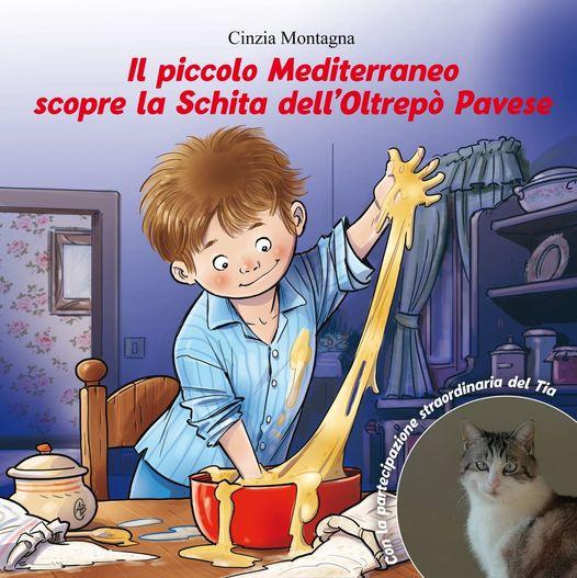 """Copertina libro """"Il piccolo mediterraneo scopre la schita dell'Oltrepò Pavese"""""""