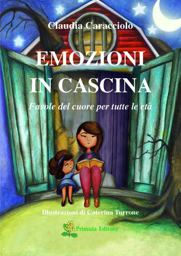 """Copertina libro """"Emozioni in cascina"""""""
