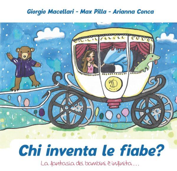 """Copertina libro """"Chi inventa le fiabe?"""""""