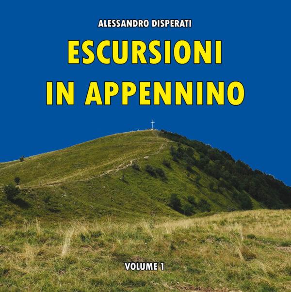 """Copertina libro """"escursioni in appennino"""""""
