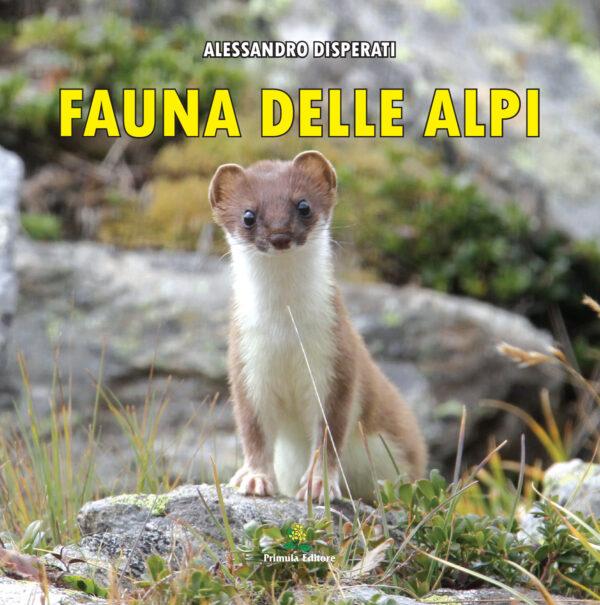 """Copertina libro """"Fauna delle alpi"""""""