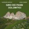 """Copertina libro """"Giro dei passi dolomitici"""""""