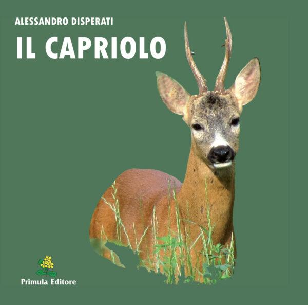 """Copertina libro """"Il capriolo"""""""